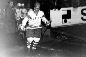 Нападающий сборной СССР, Олимпийский чемпион Юрий Моисеев