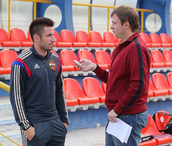 Зоран Тошич и Олег Лысенко