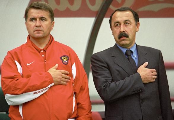 Николай Латыш и Валерий Газзаев