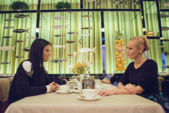 Ольга Березуцкая и Юлия Алексеенко