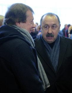 Юрий Семин и Валерий Газзаев (слева направо)