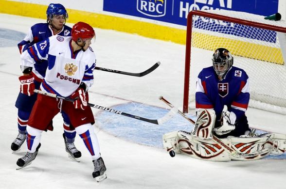 Иван Телегин на молодёжном чемпионате мира 2011 года